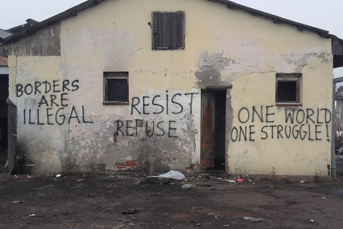 OPEN BORDER CONFERENCE<br>CREATING SHARED SPACES OF STRUGGLE
